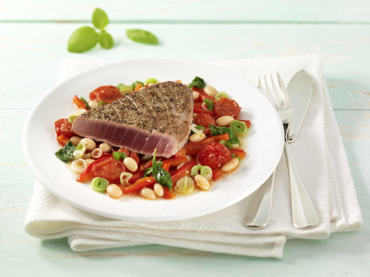 Thunfisch in Pfefferkruste 0001