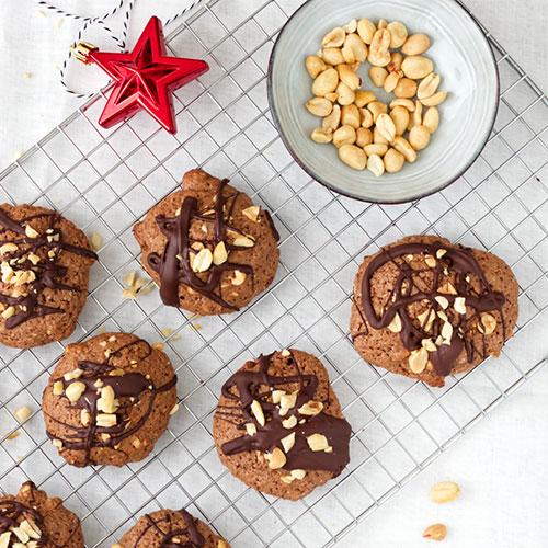 Erdnusscookie