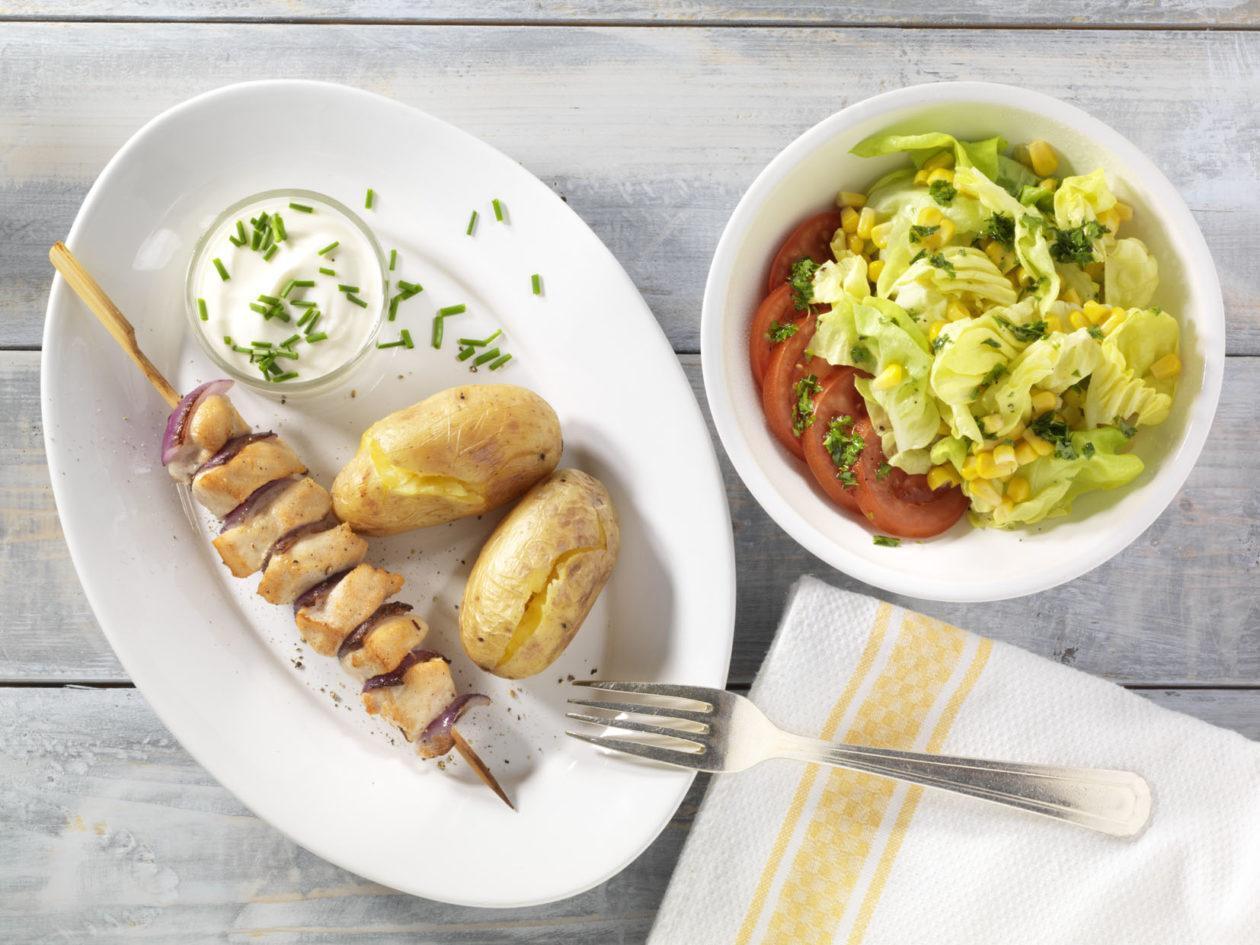 Fleischspieße zum Grillen - BCM Diät Rezepte.at