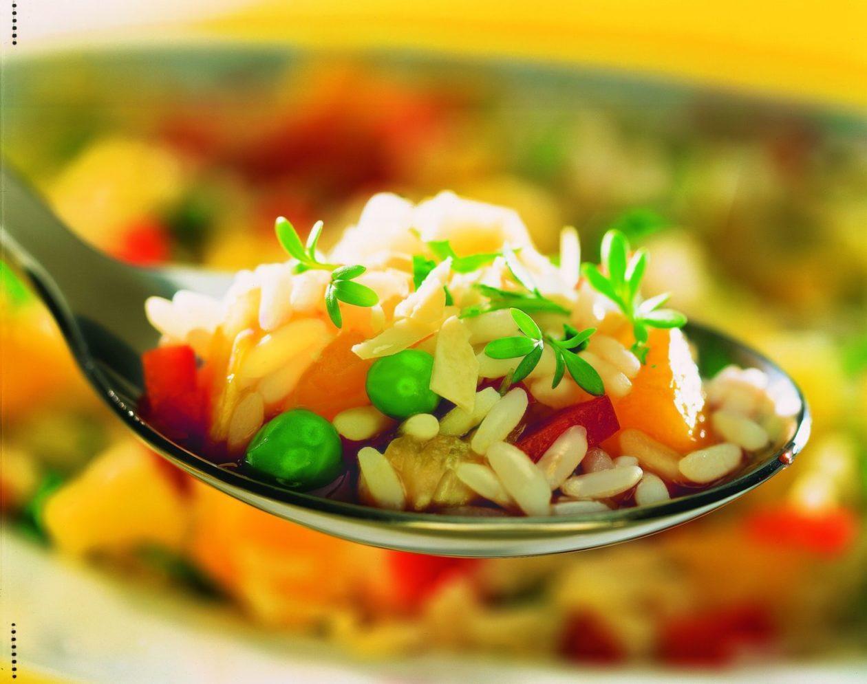 Fruchtiger Reissalat - BCM Diät Rezepte.at