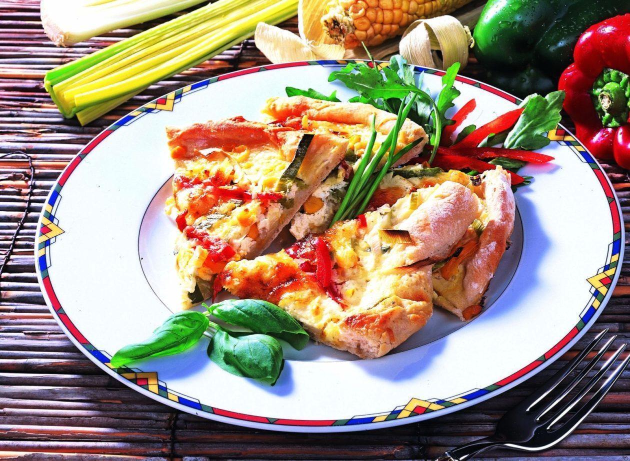 Gemüse-Ecken - BCM Diät Rezepte.at
