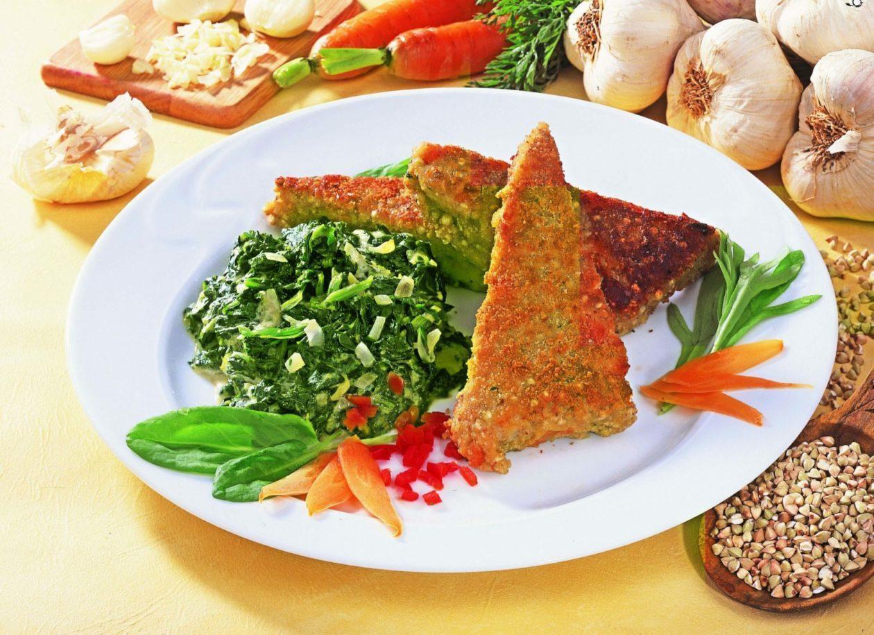 Gemüsebratlinge an Mangold - BCM Diät Rezepte.at