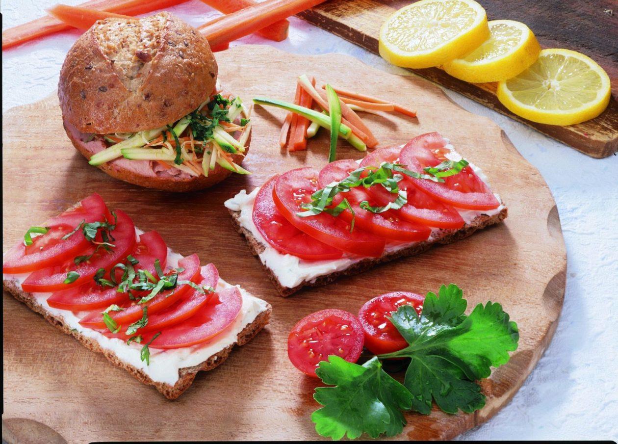 Gemüseburger - BCM Diät Rezepte.at