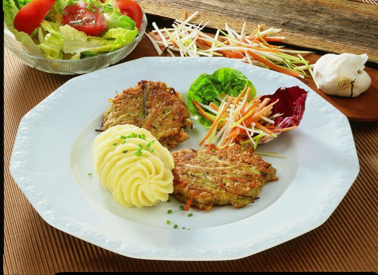 Gemüsepuffer - BCM Diät Rezepte.at