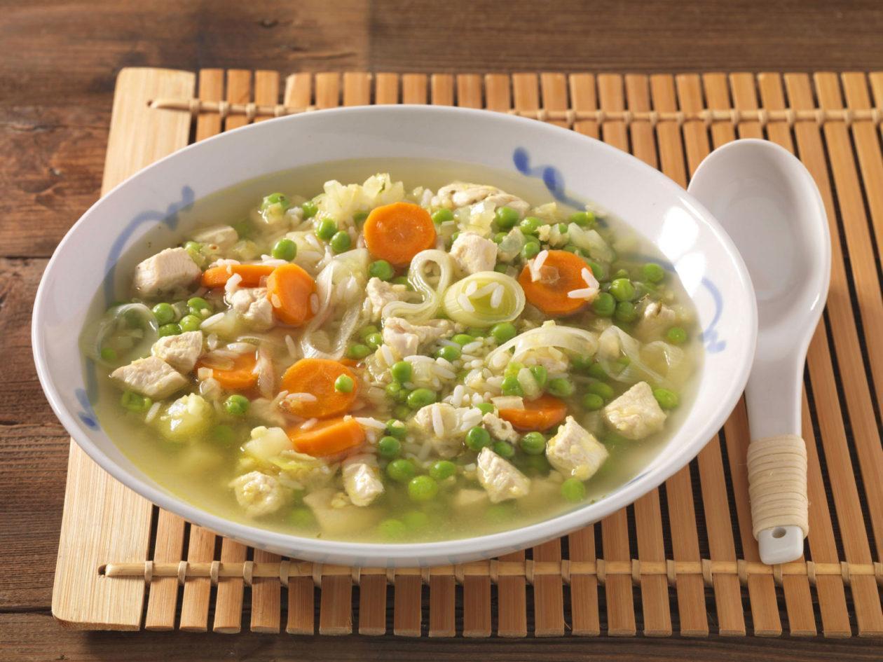 Hühner-Gemüseeintopf - BCM Diät Rezepte.at
