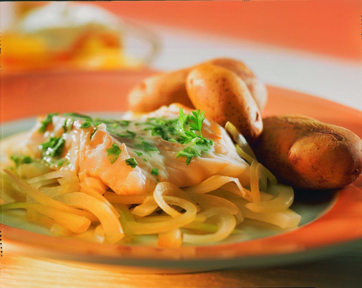 Kabeljaufilet auf Fenchel - BCM Diät Rezepte.at