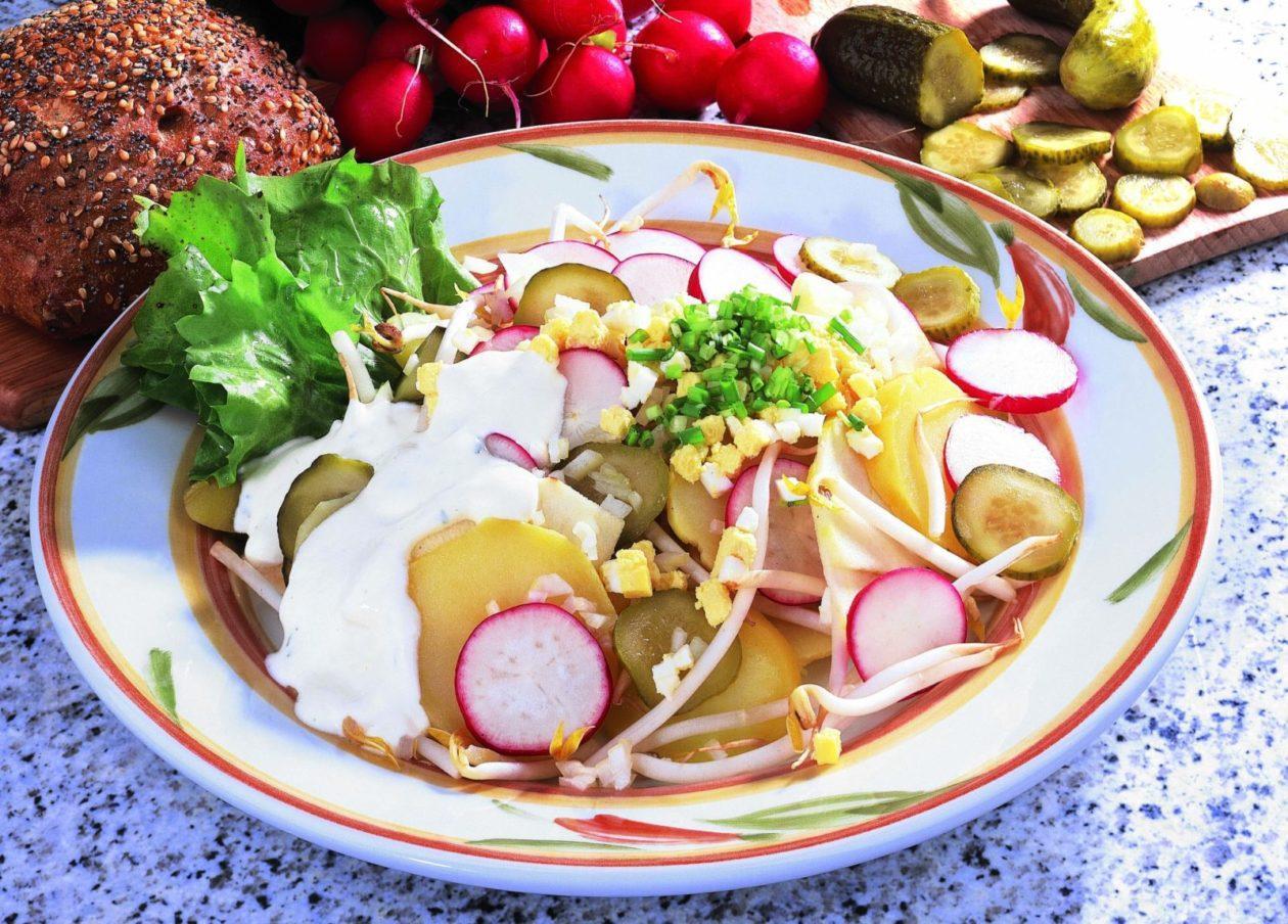 Kartoffel-Ei-Salat - BCM Diät Rezepte.at