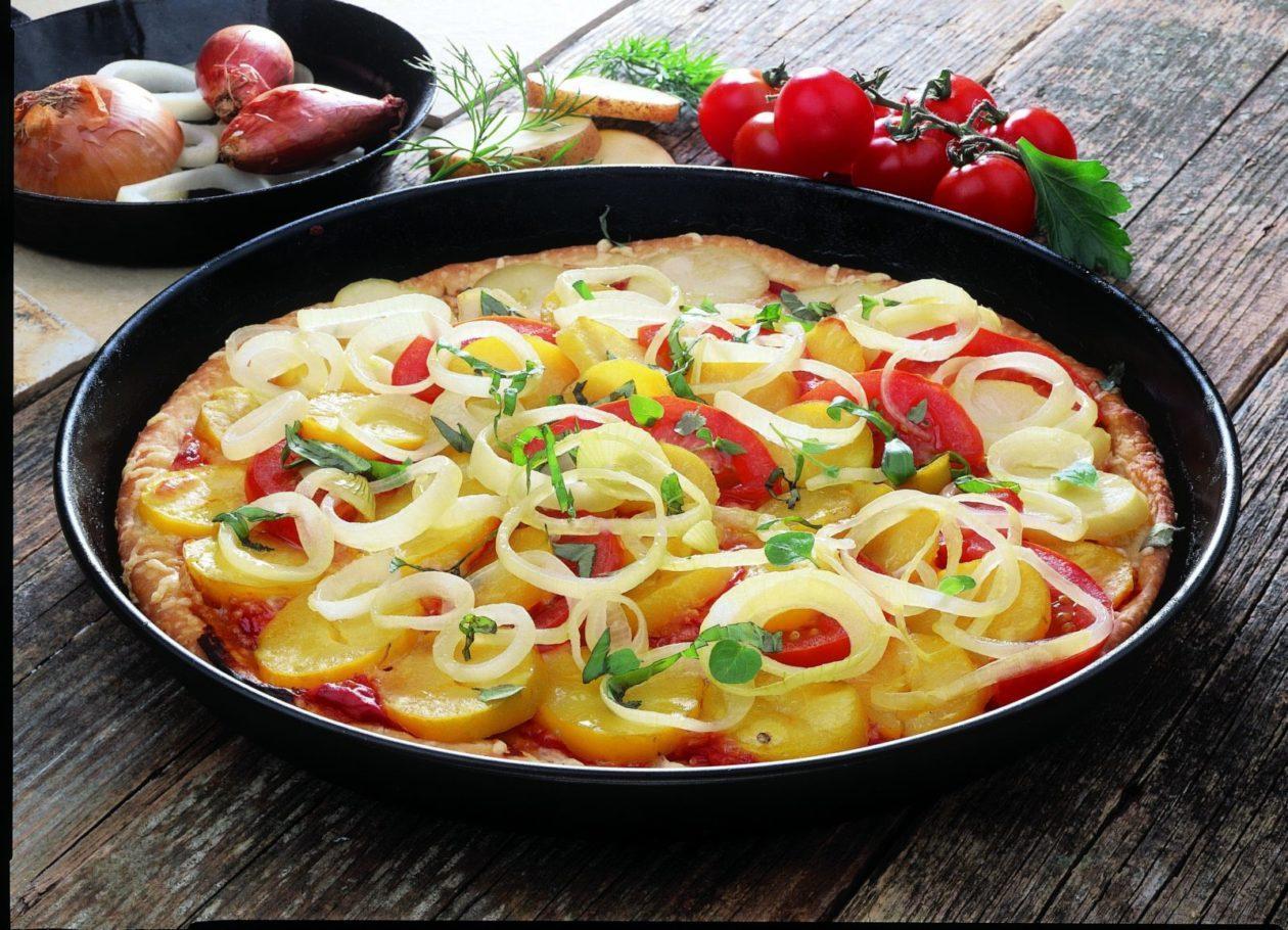 Kartoffelpizza - BCM Diät Rezepte.at