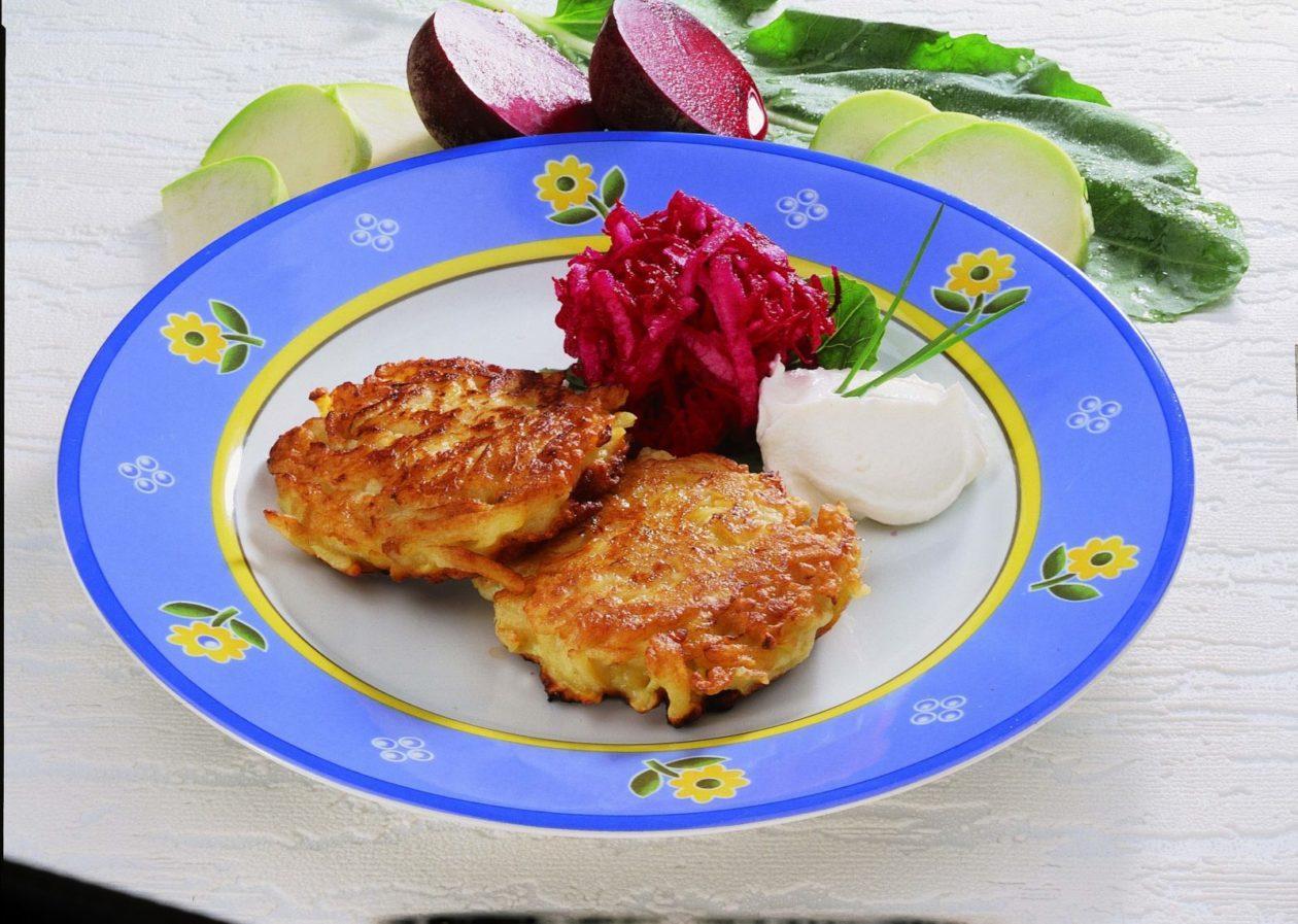 Kohlrabi-Kartoffelrösti - BCM Diät Rezepte.at