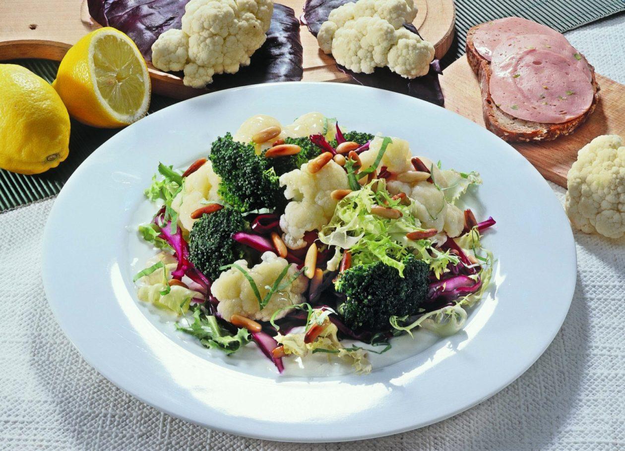 Lauwarmer Gemüsesalat - BCM Diät Rezepte.at