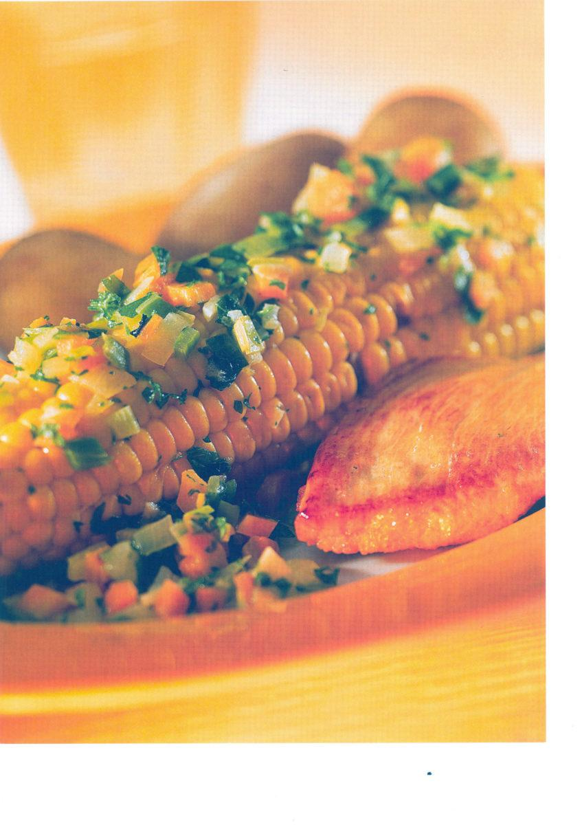 Maiskolben aus der Folie mit Putensteak - BCM Diät Rezepte.at