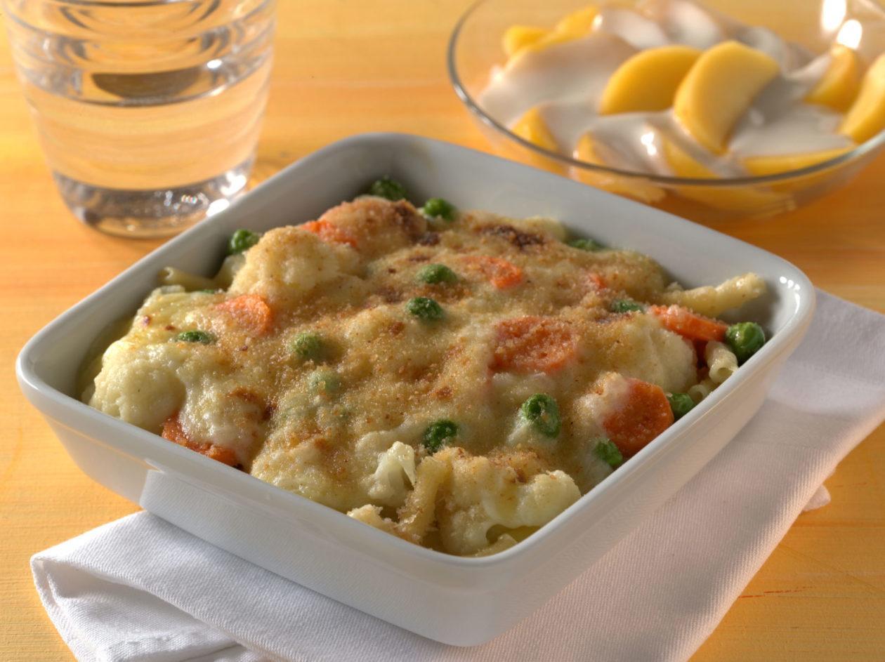 Makkaroni-Gemüseauflauf - BCM Diät Rezepte.at