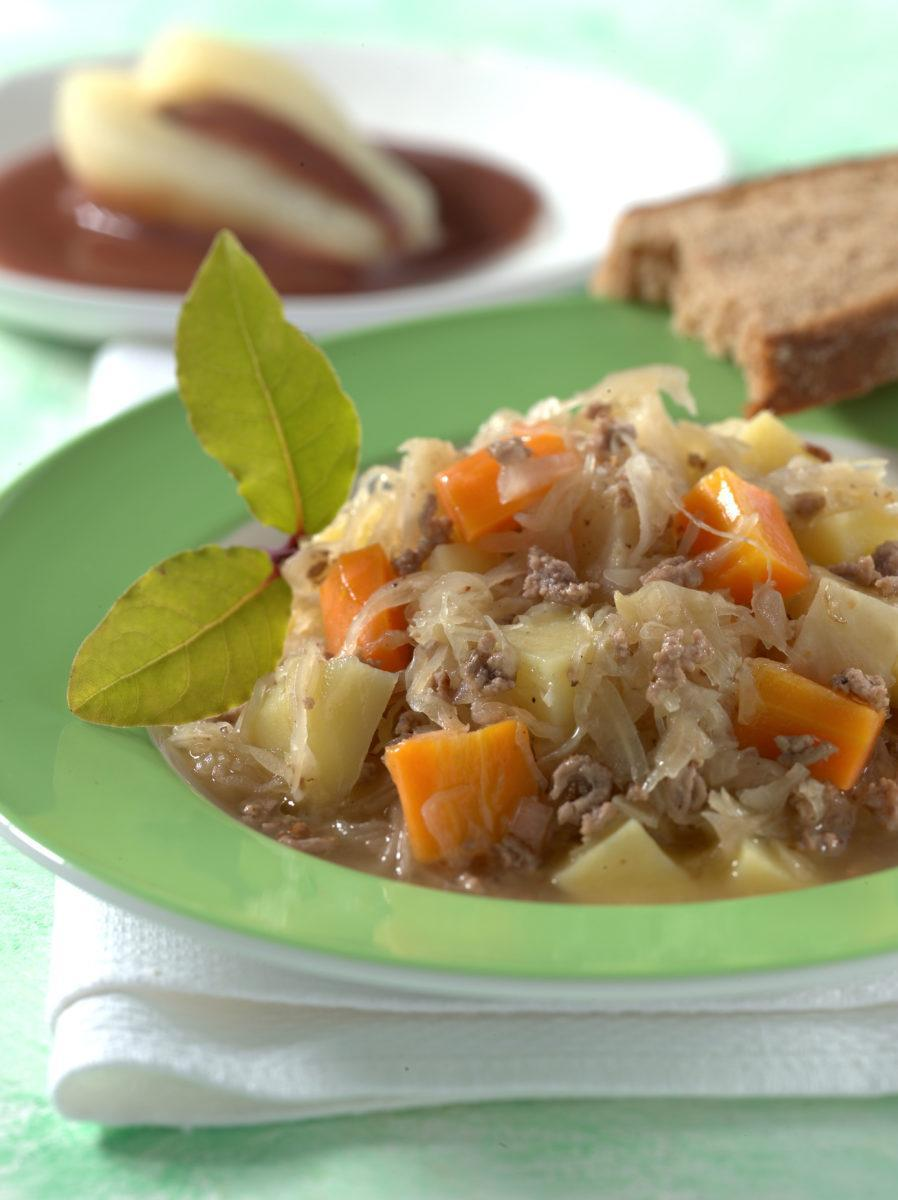 Sauerkrauttopf mit Hackfleisch - BCM Diät Rezepte.at