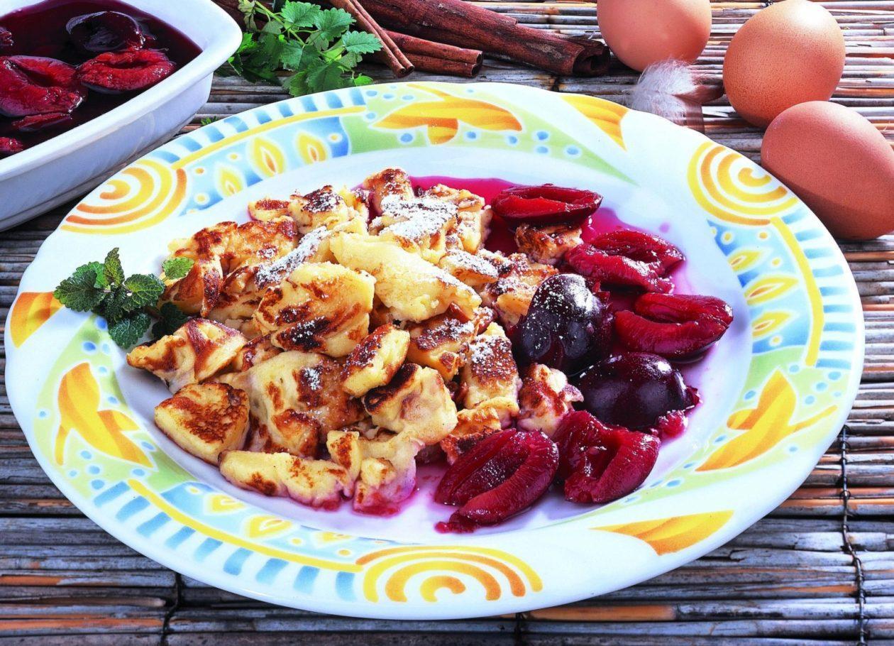 Schmarren mit Zwetschgen - BCM Diät Rezepte.at