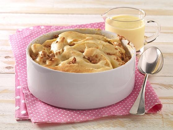 Apfelauflauf mit Amaretti - BCM Diät Rezepte.at