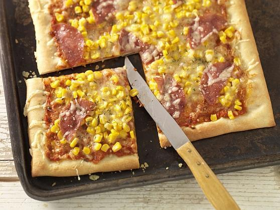 Pizza Salami - BCM Diät Rezepte.at