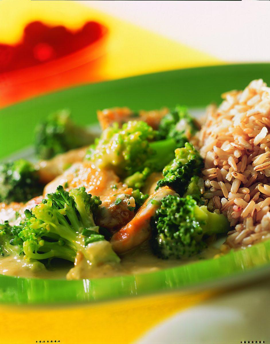 Hähnchengeschnetzeltes mit Brokkoli - BCM Diät Rezepte.at
