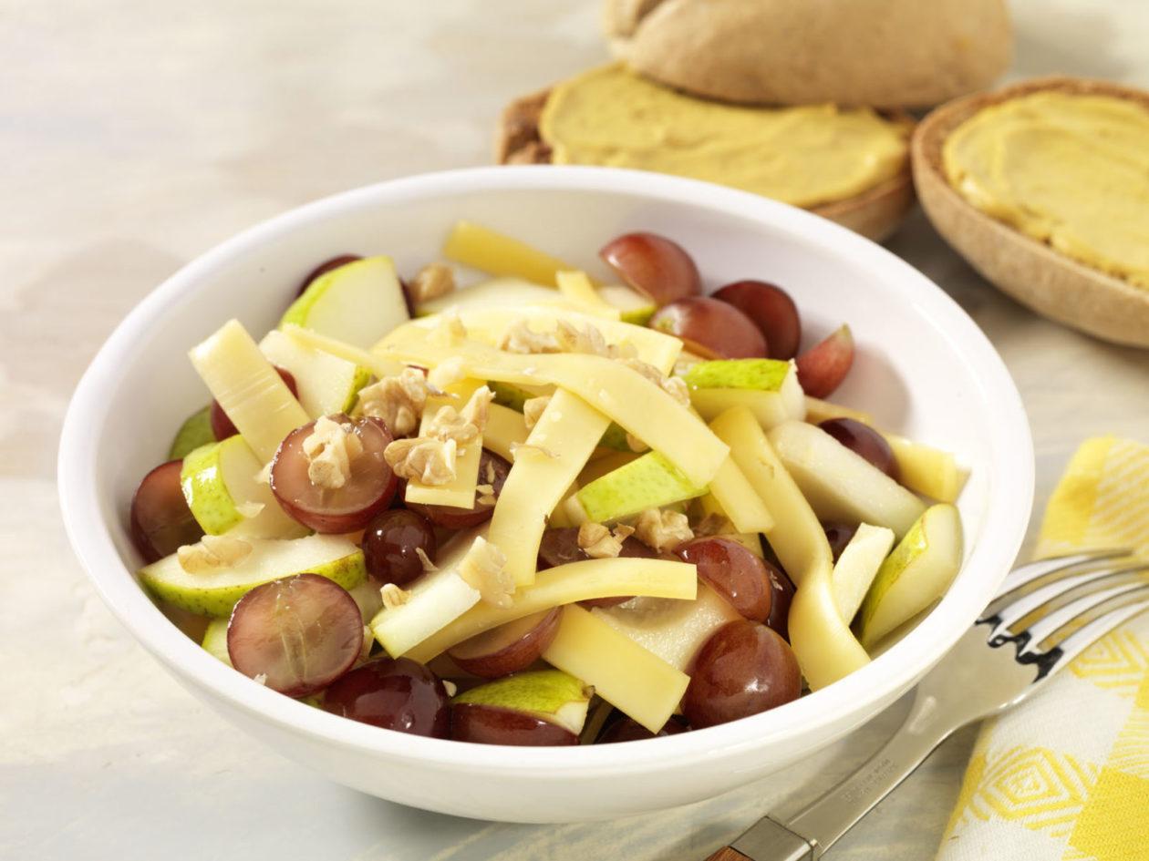 Käse-Obst-Salat - BCM Diät Rezepte.at