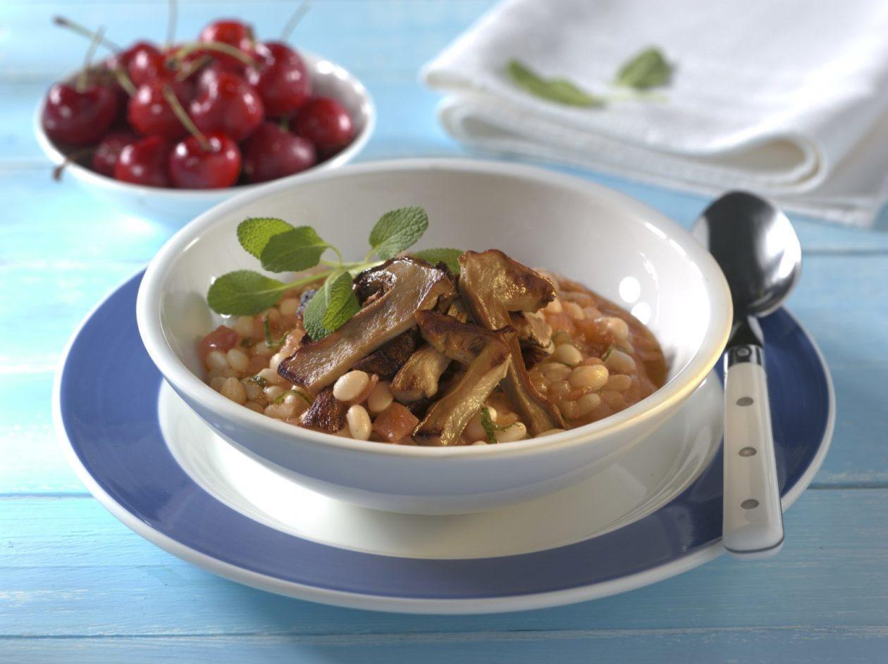 Toskanischer Bohneneintopf mit Steinpilzen - BCM Diät Rezepte.at
