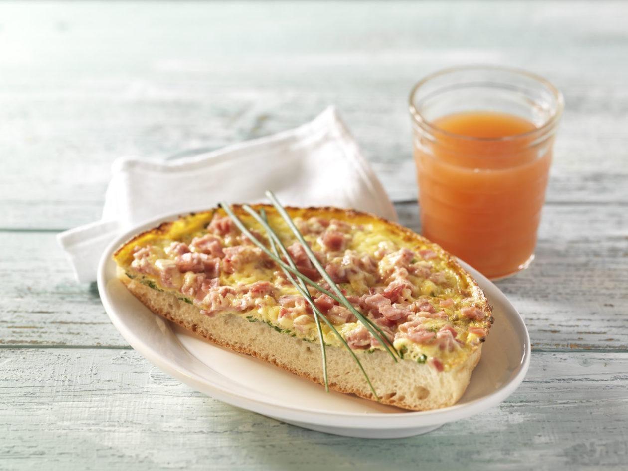 Käse-Schinken-Omelett - BCM Diät Rezepte.at