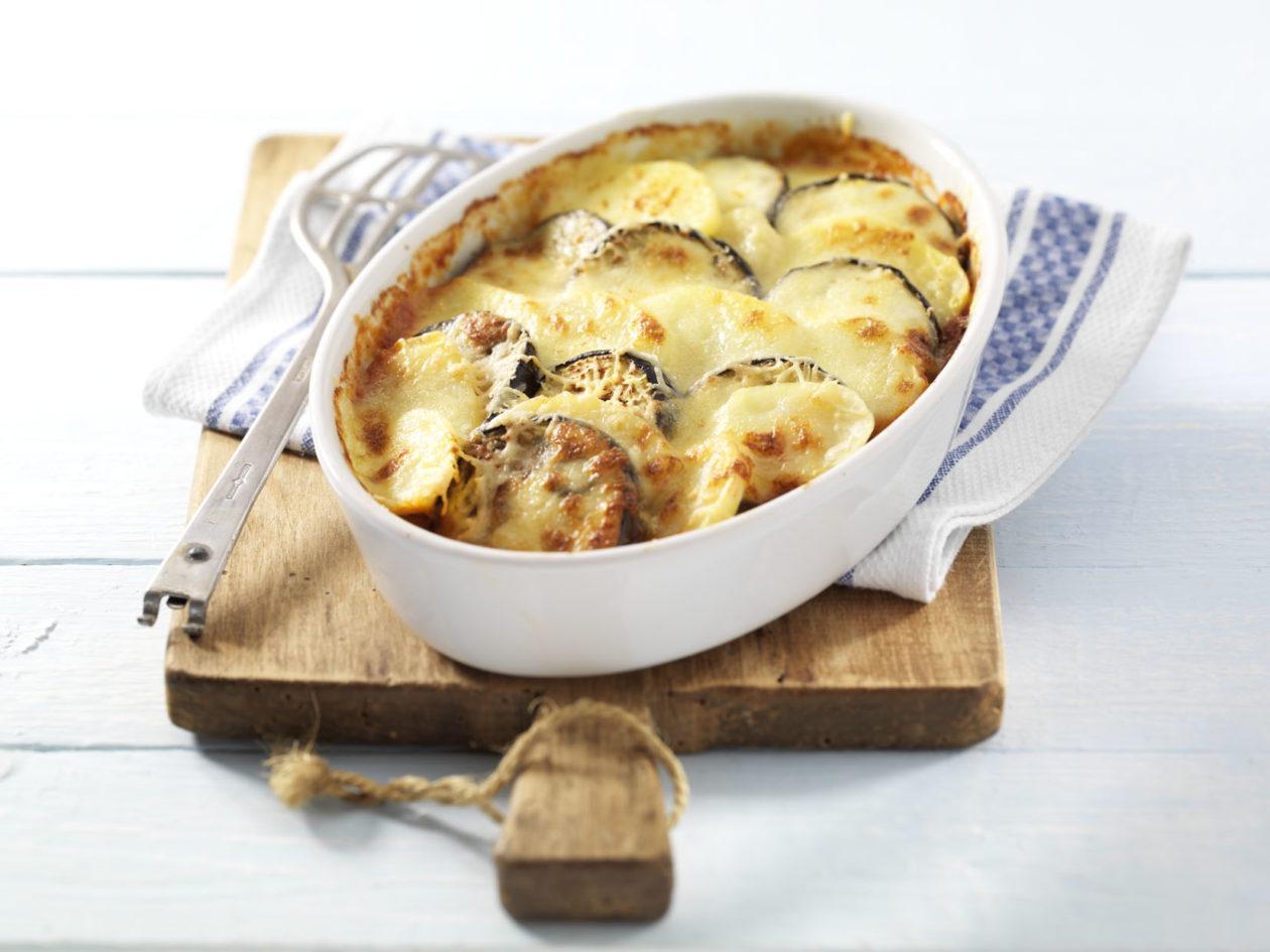 Kartoffel-Auberginen-Auflauf  - BCM Diät Rezepte.at