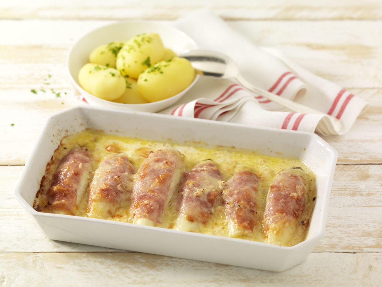 Überbackener Chicorée - BCM Diät Rezepte.at