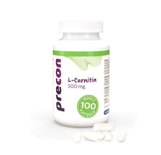 L-Carnitin 500 Kapseln